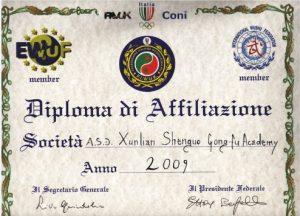 Shunlian Shenghuo Kungfu Academy membership