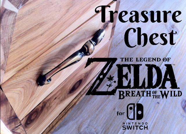 Zelda Breath of the Wild Treasure Chest