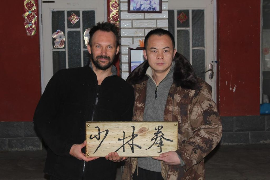Shi Xing Long with Shifu Fabio Zambelli
