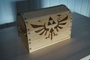 Zelda Treasure Chest for Nintendo Switch