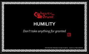 16 - HUMILITY