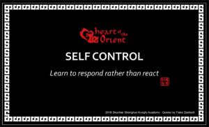 29 - SELF CONTROL
